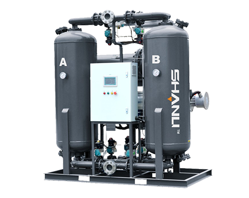 Heated Blower Desiccant Air Dryer With Air Purge Type